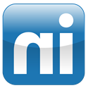 "LinkedIn logo: blue square containing word ""in"""